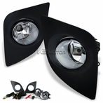 Chrome OEM Style Fog Lights Kit With Switch