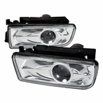 Chrome Projector Fog Lights