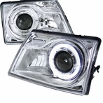 Chrome Projector Halo Projector Headlights