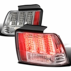 Chrome Sequential LED Tail Lights