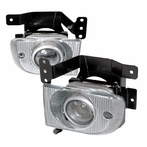 Clear JDM Style Fog Lights Kit