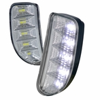 Clear LED Bumper Lights