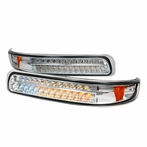 Clear LED Bumper Signal Lights