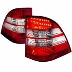 Clear LED Tail Lights