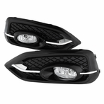 Clear OEM Style Fog Light Kit