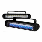 Clear Universal LED Bumper Fog Lights