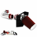 Cold Air Intake + Red Filter + Heat Shield (V8)