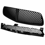 COMBO: Black Front Upper+ Lower Mesh Grilles