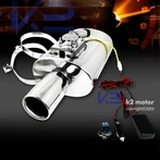 Exhaust Muffler with Electric Valve Silencer