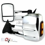 Extending Towing Mirrors with LED Signal Lights (Manual)