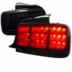 Glossy Black LED Sequential Tail Lights