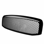 Glossy Black Mesh Front Grille