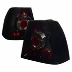 Glossy Black Tail Lights