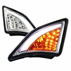 Clear LED 3D DRL Corner Lights