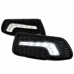 LED Daytime Running Lights (Clear)