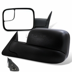 Manual Adjustable Towing Mirror (Black)