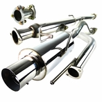 N1-Style Catback Muffler Exhaust System
