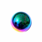Neo Chrome 5-Speed Manual Transmission Shift Knob