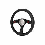 Nrg Steering Wheel Real Leather With Horn Button (Universal)