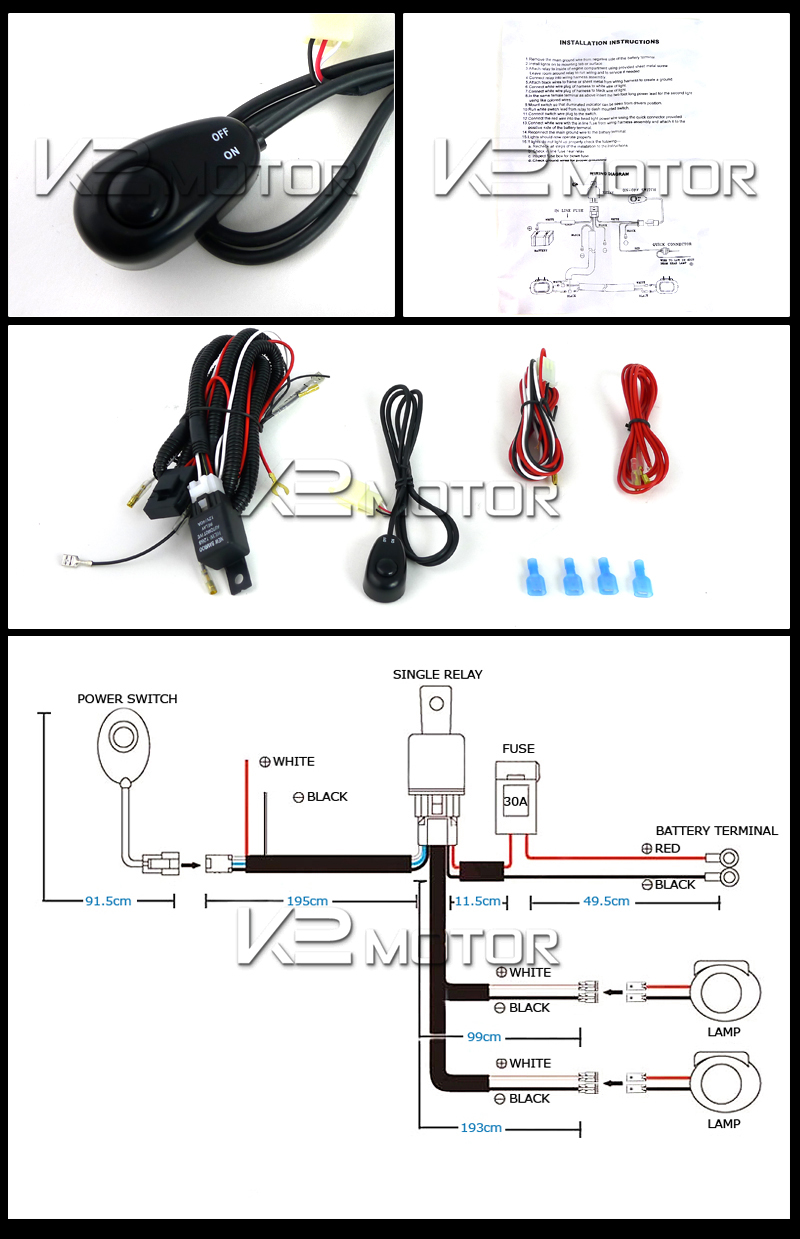 Off Road Lights Kit Westin Led Wiring Harness Pictures