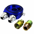 Blue Oil Filter Sandwich Adapter Kit
