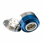 Quick Release Steering Wheel Hub (Blue)