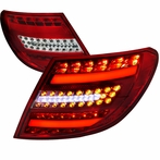 Red 3D LED Tail Lights