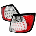 Red/Chrome LED Altezza Tail Lights