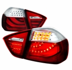 Red/Clear 3D LED Tail Lights