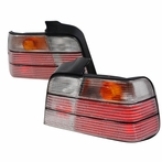 Red/Clear Euro Tail Lights