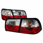 Red/Clear JDM Style Tail Lights
