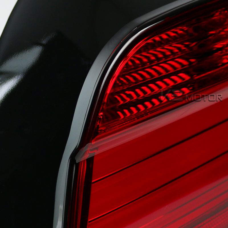 01 03 Bmw E39 M5 Led Tail Lights Red Clear
