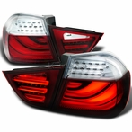 Red/ Clear LED Tail Lights
