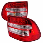 Red Euro LED Tail Lights