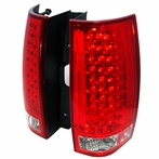 Red G3 Style LED Tail Lights