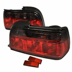 Red/Gunmetal Tail Lights