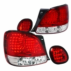 Red LED Altezza Tail Lights + Trunk Lights