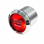 Red LED Engine Start Button - 12V