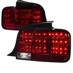 Red LED Sequential Tail Lights