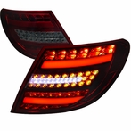 Red Smoked 3D LED Tail Lights