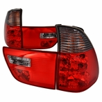 Red/Smoked Euro Altezza Tail Lights