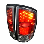 Red/Smoked Euro LED Tail Lights