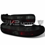 Red/Smoked JDM Style Tail Lights