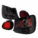 Red/Smoked LED Tail Lights + Trunk Lights