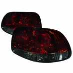Red Smoked Tail Lights