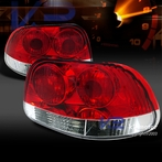 Red Clear Tail Lights