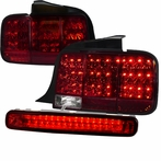 RedSequential LED Tail Lights + 3rd LED Brake Light