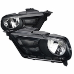 Smoke Crystal Euro Headlights