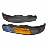 Smoke LED Bumper Signal Lights