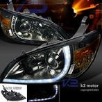 Smoke R8 Style LED Projector Headlights